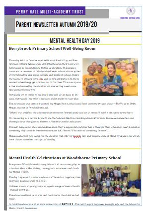 Parent Newsletter Autumn 2019